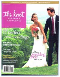 This wedding featured in The Knot magazine. Click to download the Article.