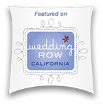 This wedding is featured online on Wedding Row California.