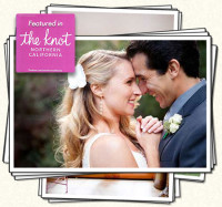 Jenna & Anthony's Wedding by Sharon Burns - Featured in The Knot Magazine