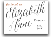 Featured on Elizabeth Anne Design