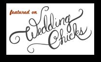 Amanda & Mark's Wedding in the Gardens at Brix featured in Wedding Chicks