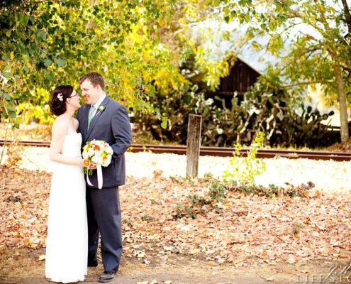 Amanda & Mark's Garden Wedding at Brix by Napa Valley Custom Events