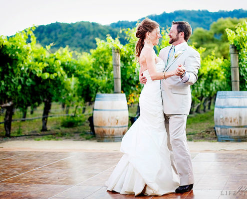 Lindsey & Daniel at Brix by Napa Valley Custom Events