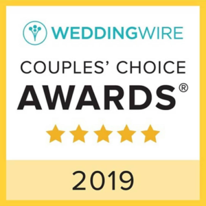 Napa Valley Custom Events by Sharon Burns is a Wedding Wire 2019 Couples' Choice Award Winner