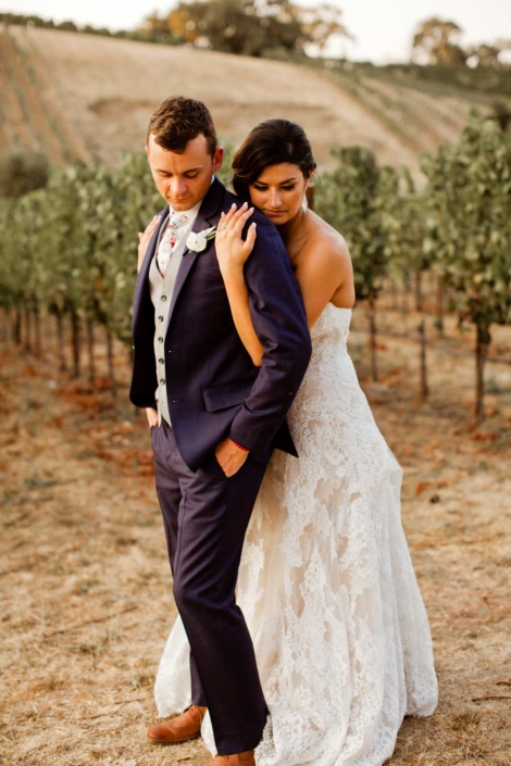Brie & Tyler at Arista Winery, Healdsburg, by Sharon Burns, Napa Valley Custom Events